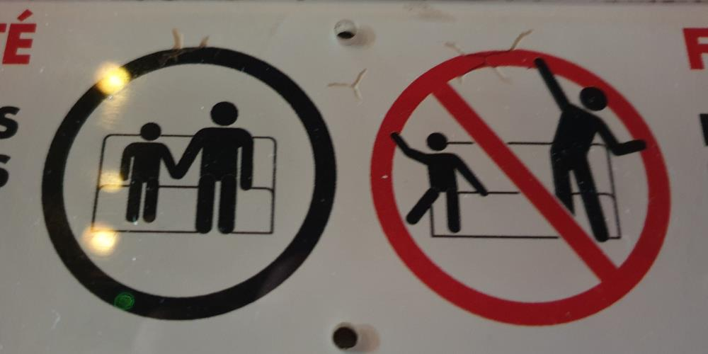 No raving on the ride, please.