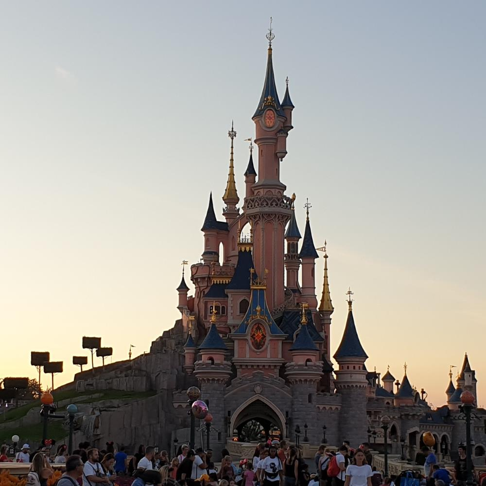 Sleeping Beauty's Castle in Disneyland Paris